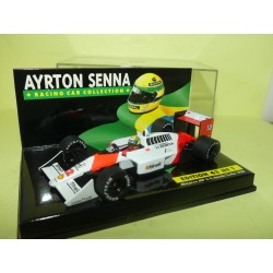 McLAREN MP4-4 HONDA TURBO GP 1988 A. SENNA MINICHAMPS 1:43