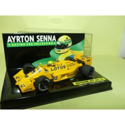LOTUS 99 T HONDA TURBO GP 1987 A. SENNA MINICHAMPS 1:43