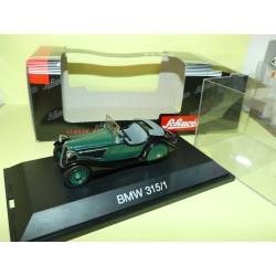 BMW 315/1 Vert et Noir SCHUCO 02323 1:43