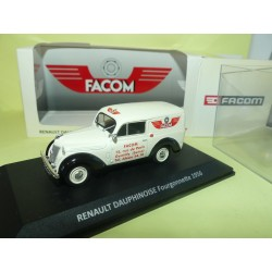 RENAULT DAUPHINOISE FOURGONNETTE 1956 FACOM NOREV 1:43