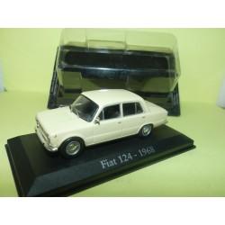 FIAT 124 1968 Beige FABBRI 1:43