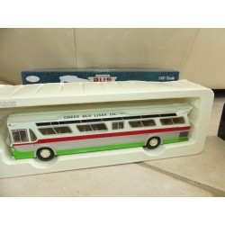 CAR BUS GM FISHBOWL GREEN BUS LINE NEW YORK CORGI US54315 1:50