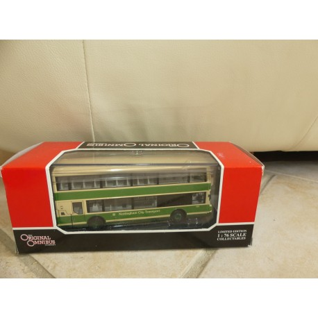 CAR BUS LOLYNE NOTTINGHAM CITY TRANSPORT CORGI OM42503 1:76