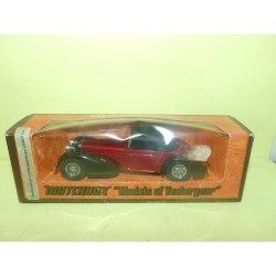 HISPANO SUIZA 1938 Rouge MATCHBOX Y-17 1:48