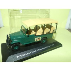 TOYOTA BJ TAXI SOUTH AFRICA SAFARI PARK 1970 ALTAYA 1:43 blister