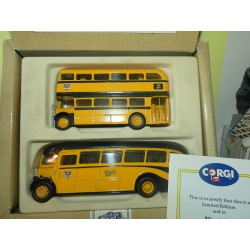 CAR BUSAEC BUS SET REGENT REGAL CORGI 96990