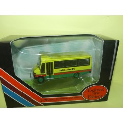 CAR BUS MERCEDES MINBUS LONDON AND COUNTRY GILBOW EFE 24811 1:76