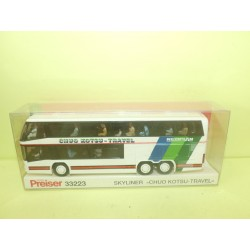 AUTOCAR CAR SKYLINER CHUO KOTSU TRAVEL PREISER 33223 HO 1:87