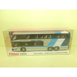 AUTOCAR CAR SKYLINER OAK HALL EXPEDITIONS PREISER 33225 HO 1:87
