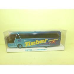 AUTOCAR CAR NEOPLAN STARLINER TIEBER JUDENBURG RIETZE 62034 HO 1:87