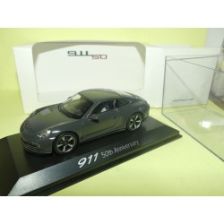 PORSCHE 911 991 50th Anniversary Gris PORSCHE MUSEUM WELLY 1:43