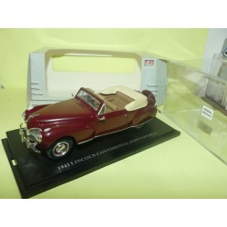 LINCOLN CONTINENTAL CONVERTIBLE Bordeaux UNIVERSAL HOBBIES LEGEND 1:43