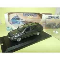 PEUGEOT 406 BREAK 1999 Gris PARADCAR 93 1:43
