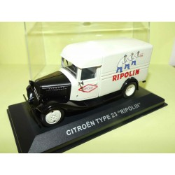 CITROEN TYPE 23 RIPOLIN ALTAYA 1:43