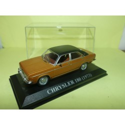 CHRYSLER 180 Marron et Noir ALTAYA 1:43