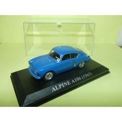 RENAULT ALPINE A106 1965 Bleu ALTAYA 1:43