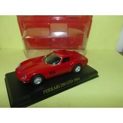 FERRARI 250 GTO 1962 Rouge FABBRI 1:43 sous coque