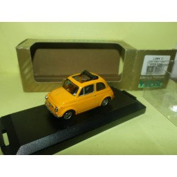 FIAT 500 F OPEN ROOF 1965 Orange VITESSE L094C 1:43