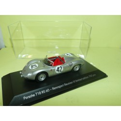 PORSCHE 718 RS 60 N°42 SEBRING 1959 SPARK 1:43