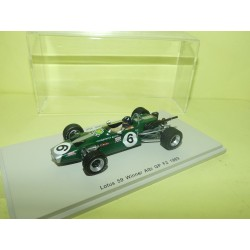LOTUS 59 GP ALBI F2 1969 G. HILL SPARK S4277 1:43