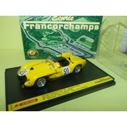 FERRARI TESTAROSSA N°21 LE MANS 1958 ART MODEL 1:43 SPA FRANCORCHAMPS