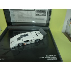 CHAPARRAL 2H CAN AM EDMONTON 1969 J. SURTEES MINICHAMPS 1:43