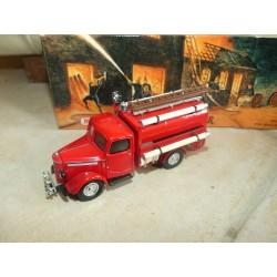BEDFORD TANKER FIRE ENGINE 1939 POMPIERS MATCHBOX YFE04 1:43 défaut
