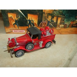 FORD MODEL A FIRE ENGINE 1930 POMPIERS MATCHBOX YFE12 1:43