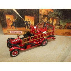 FORD MODEL T FIRE ENGINE 1916 POMPIERS MATCHBOX YFE22-M 1:43