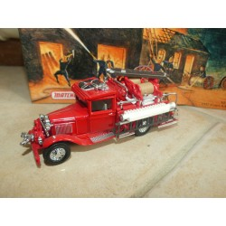 FORD MODEL AA FIRE ENGINE 1932 POMPIERS MATCHBOX YFE06-M 1:43