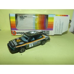 SAAB 900 TURBO Version Rallye BURAGO 4101 1:43