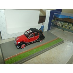 CITROEN 2CV 6 CHARLESTON MEDCIN ATLAS 1:43