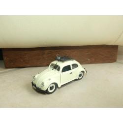 VW COCCINELLE TAXI Beige Blanc RIO 1:43 sans boite