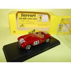 FERRARI 166 MM N°28 LE MANS  1950 ART MODEL ART061 1:43 Arrivée 24ème