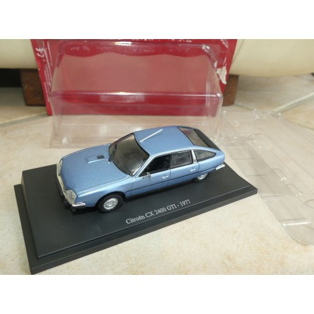 CITROEN CX 2400 GTi 1977 Bleu UNIVERSAL HOBBIES  1:43 blister