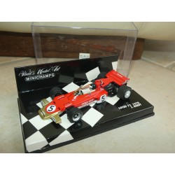 LOTUS 72 GP 1970 J. RINDT MINICHAMPS 1:43