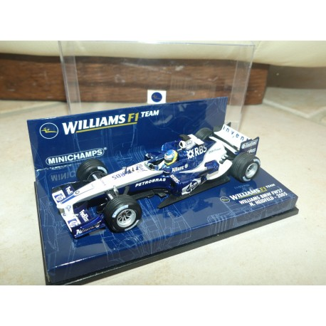 WILLIAMS BMW FW27 GP 2005 N. HEIDFELD MINICHAMPS 1:43