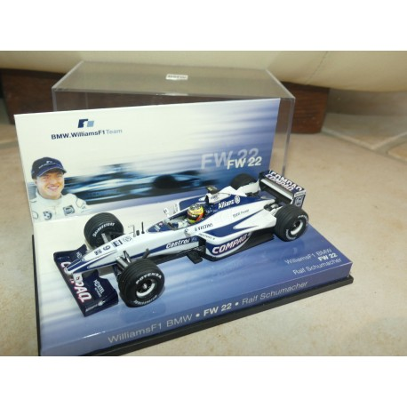 WILLIAMS FW22 GP 2001 R. SCHUMACHER MINICHAMPS 1:43