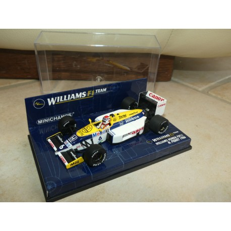 WILLIAMS FW11 GP 1986 N. PIQUET MINICHAMPS 1:43