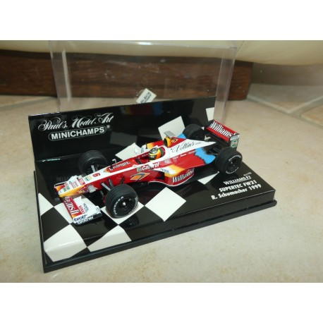 WILLIAMS FW21 GP 1999 R. SCHUMACHER MINICHAMPS 1:43