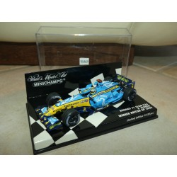 RENAULT F1 TEAM R26 GP D'ANGLETERRE 2006 F. ALONSO MINICHAMPS 1:43