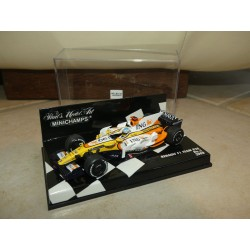 RENAULT F1 TEAM R28 N°5 GP 2008 F. ALONSO MINICHAMPS 1:43