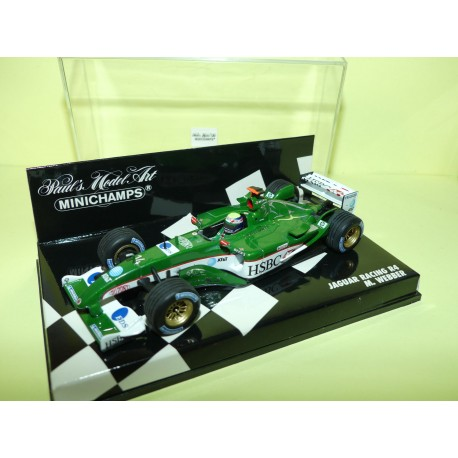 JAGUAR RACING R4 GP 2003 M. WEBBER MINICHAMPS 1:43