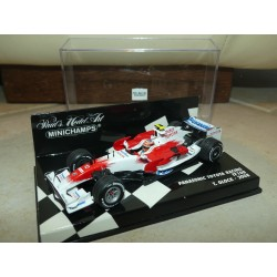PANASONIC TOYOTA RACING TF108 GP 2008 T. GLOCK MINICHAMPS 1:43