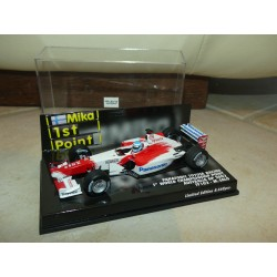 PANASONIC TOYOTA RACING TF102 GP 2002 M. SALO MINICHAMPS 1:43