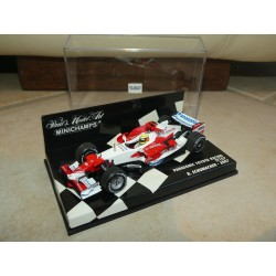 PANASONIC TOYOTA RACING TF107 GP 2007 R. SCHUMACHER MINICHAMPS 1:43