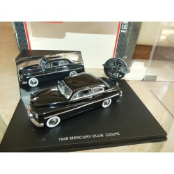 MERCURY CLUB COUPE  1949 Noir UNIVERSAL HOBBIES 1:43