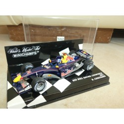 RED BULL RACING COSWORTH RB1 GP 2005 D. COULTHARD MINICHAMPS 1:43