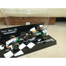 FORCE INDIA MERCEDES VJM07 GP 2014 N. HULKENBERG MINICHAMPS 1:43