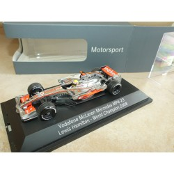 VODAFONE McLAREN MERCEDES MP4-23 GP 2008 L. HAMILTON MINICHAMPS 1:43